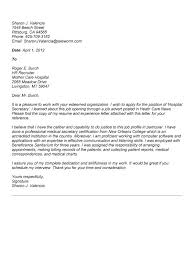 office cover letter samples luxury cover letter for secretarial position 98 for your images of