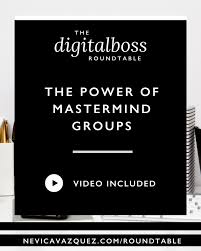 the power of mastermind groups