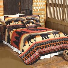 wildlife mountain blankets