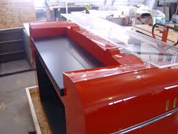 Car Desks Side View Of The Reception Desk From From A Real Front End Of A