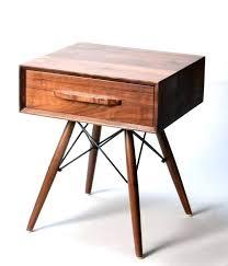 wooden side table wooden side table bedside wood modern tables dark round pedestal small round wooden