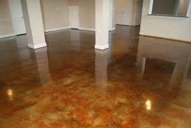 acid stained concrete floor. Brilliant Floor Concrete Stain Basement Throughout Acid Stained Floor O