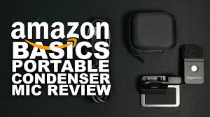 AmazonBasics <b>Portable USB</b> Condenser Microphone Review / Test ...