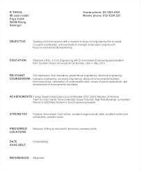 Sample Resume For Civil Engineering Student Best of Sample Resume Civil Engineer Yomm
