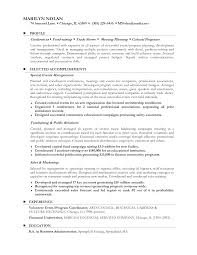 Sample Resume For Career Change Functional Resume Examples For Career Change Examples Of Resumes 5