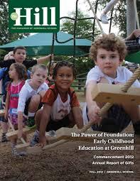 The Hill | 2012-2013 Fall by Greenhill School - issuu