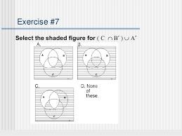 Sets Venn Diagram Shading Sets And Venn Diagrams
