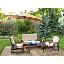 medium size of with umbrella wood hole outdoor home depot set amazing patio family dollar lawn