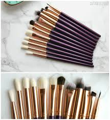 i randomly came across this set when i was searching for natural brushes after my last rose gold zoeva pink set in