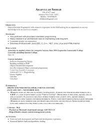 Net Developer Resume Best Resumes