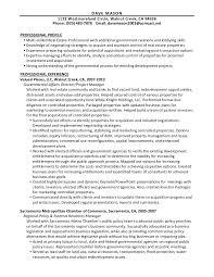 dave mason resume real estate 6 19 11 - Real Estate Manager Resume