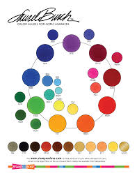 Copic Chart Laurel Burch Coloring Chart