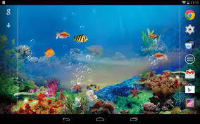 Desktop Hintergrund Aquarium Animiert ...