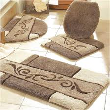 dazzling bathroom rug sets pretty how to around for bath elongated toilet lid covers and rugs super winning with cover extra large seat cream