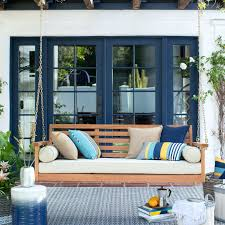 Awesome Porch Swing With Cushions suzannawinter