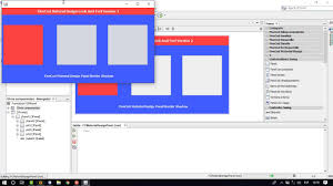 Java Material Design Look And Feel Material Design Look And Feel Version 2 Java Netbeans Panel Border Shadow