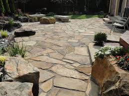 flagstone landscaping. Natural Stone Patios Flagstone Landscaping