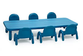 Angeles® BaseLine® Rectangular Toddler Table \u0026 Chair Set - 72\