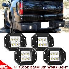 4x4 Lights Details About 4x4 Led Lights Pods Flush Mount Backup Reverse Bumper For Ford F150 F250 F350