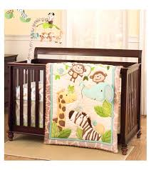 4 piece crib bedding set little bedding by nojo elephant time 4 piece crib bedding set