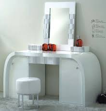 Modern Dressing Table With Mirror Vintage And Fusion