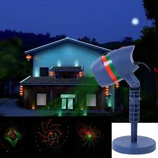 led xmas outdoor flood lights singing outdoor laser light projector snowflake