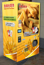 French Fry Vending Machine Canada Classy Automatic Coin Operated French Fries Vending Machinesnack Food