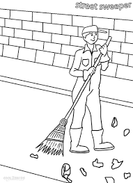 Online for Kid Community Helpers Coloring Pages 25 For Picture ...
