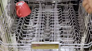How To Clean A Dishwasher Clean Up With This Kitchenaid Dishwasher Youtube