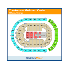 Infinite Energy Arena Seating Chart With Seat Numbers Infinite Energy Center Infinite Energy Arena Events And