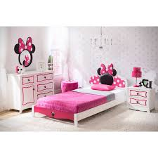 Pink Minnie Mouse Bedroom Decor Pink Minnie Mouse Toddler Bed Set Queen Bedding Disney On Black
