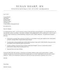 Rn Resume Cover Letter Resume Cover Letter Nurse Resume Cover Letter
