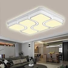 100w Led Deckenleuchte Modern Wohnzimmer Lampe Miwooho