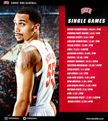 Single Game Tickets For Runnin Rebel Basketball On Sale Now