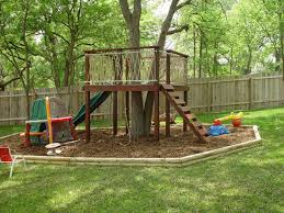 trying to find an easy but cool tree house to build for our three shapely simple backyard fort plans