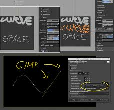 Instructions based on gimp 2.6.6 behind the cut! Curve Stroke With Dashed Line Option Blender Community
