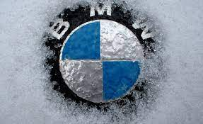 Bmw Frozen Logo Wallpaper