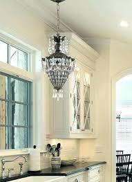pendant light over kitchen sink light over kitchen sink lights above kitchen sinks using chain pendant