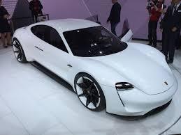 Porsche Mission E Concept - 2015 Frankfurt Auto Show Live Photos  E
