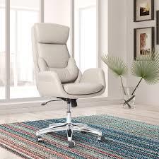 ebern designs conley best ergonomic home office high back executive chair reviews wayfair