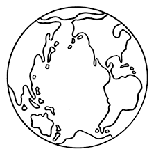 Small Picture World Coloring Page Free Printable World Map Coloring Pages For