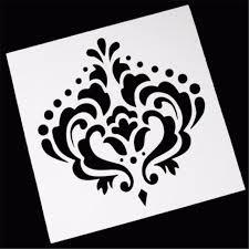 Crown Template Stunning EatingBitingR Crown Stylish Flower Layering Stencil Template DIY