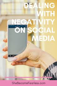 Image result for dealing with negativity