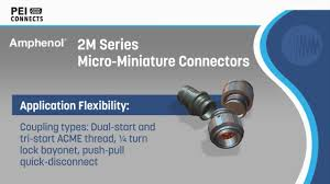 Amphenol 2m Series Micro Miniature Connectors Pei Genesis