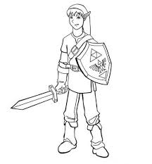 Link Coloring Page Free Printable Coloring Pages