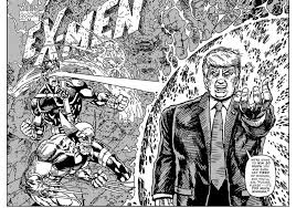 Cartoon Quotes Unique An Artist Is Turning Donald Trump Quotes Into Classic Comic Book Covers