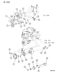1996 dodge ram 3500 pump mounting pulley power steering diagram 00000em9