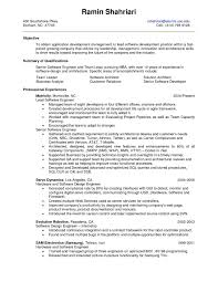 95 Software Engineer Resume Templates Free Resume Template