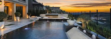 Backyard Pool Designs Interesting Orange County Custom Pool Design Construction Irvine Pool Design