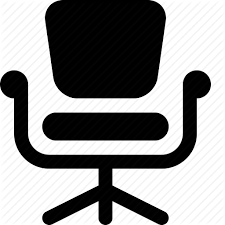 office chair icon. Boss, Ceo, Chief, Director, Executive, Office Chair, President Icon Chair H